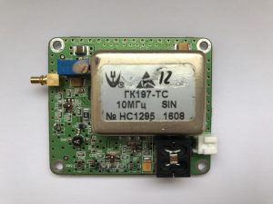Опорный генератор 120МГц